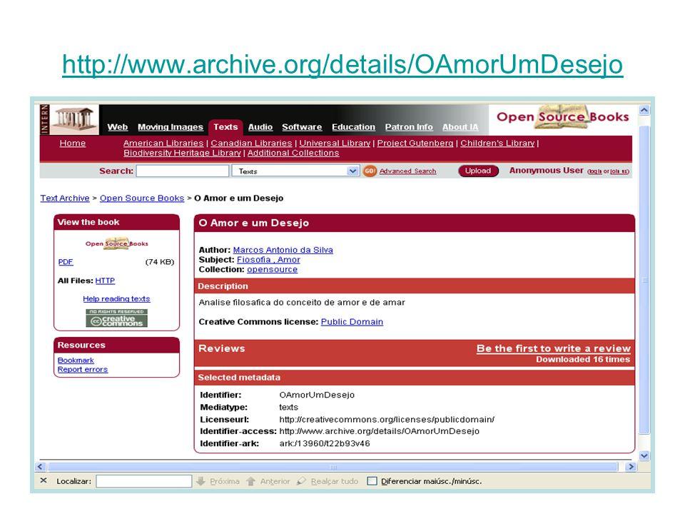 http://www.archive.org/details/OAmorUmDesejo