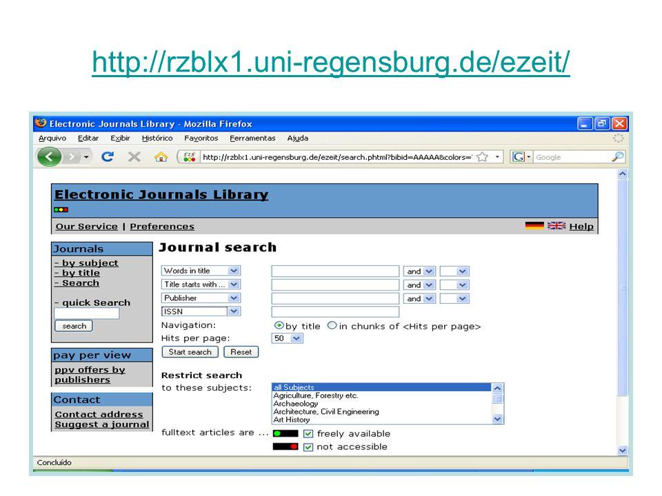 http://rzblx1.uni-regensburg.de/ezeit/