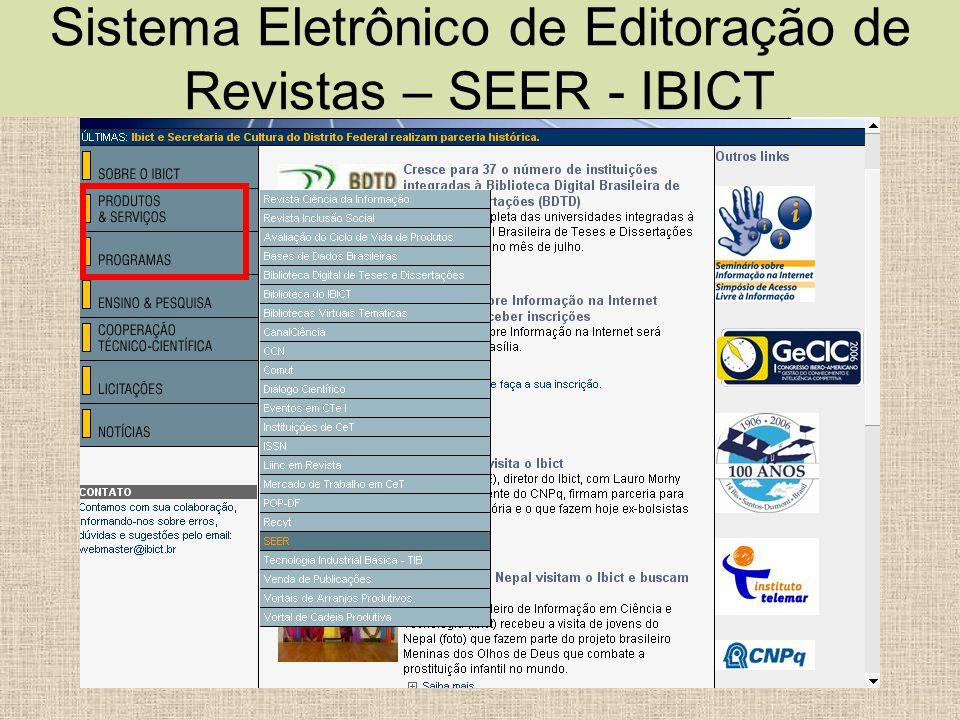 Periódico indexado no DOAJ Lembre que os registros do DOAJ são recuperados pelo Google Scholar http://scholar.google.com.br/ e OAISTER http://www.oaister.org http://scholar.google.com.br/ http://www.oaister.org