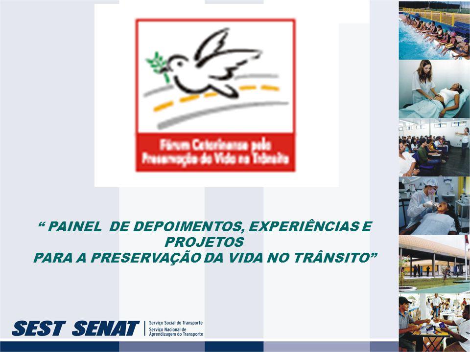 SEST - Serviço Social do Transporte SENAT - Serviço Nacional de Aprendizagem do Transporte