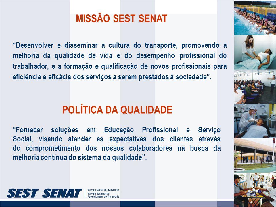 AÇÕES DO SEST SENAT PARA A PRESERVAÇÃO DA VIDA NO TRÂNSITO I -