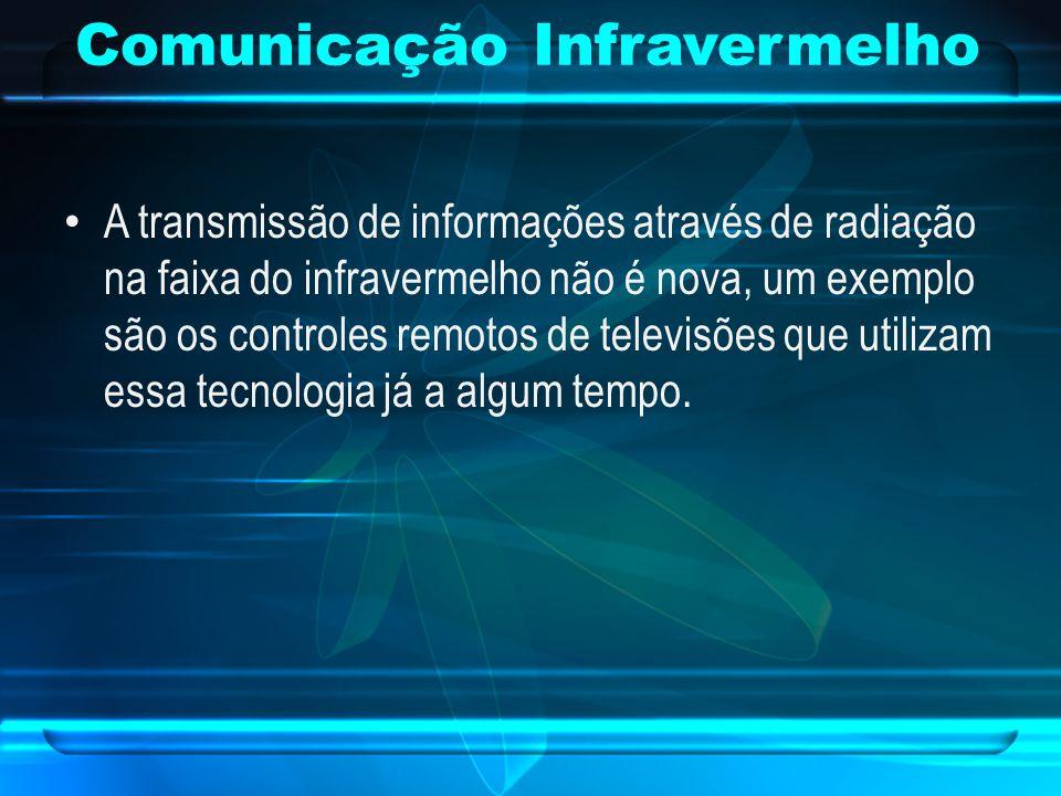 A transmissão de informações através de radiação na faixa do infravermelho não é nova, um exemplo são os controles remotos de televisões que utilizam