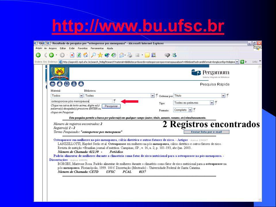 http://www.bu.ufsc.br 2 Registros encontrados