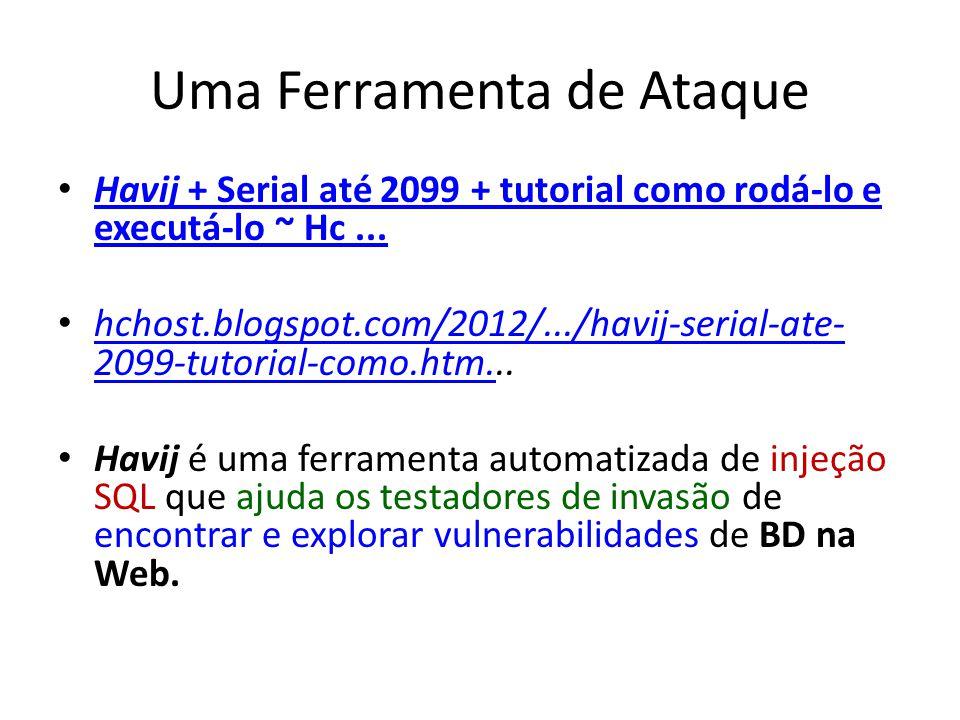 Uma Ferramenta de Ataque Havij + Serial até 2099 + tutorial como rodá-lo e executá-lo ~ Hc...