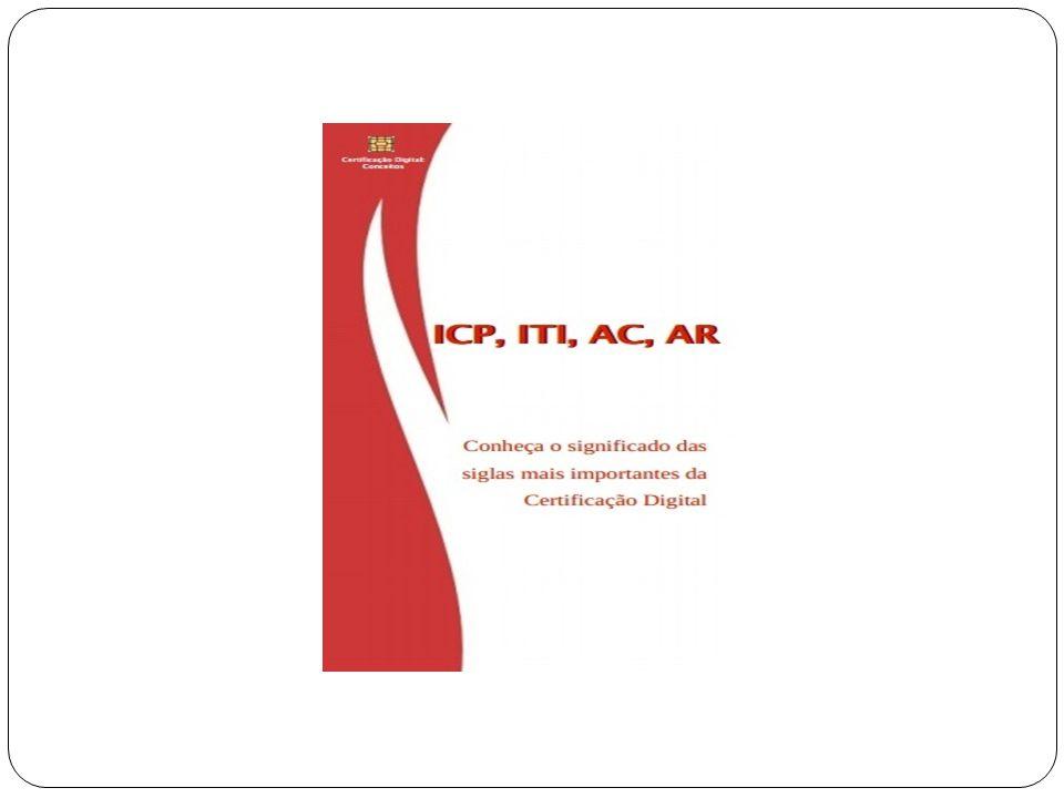 ICP-Brasil Instituída pela Medida Provisória 2.200-2 de 24/08/2001, que cria o Comitê Gestor da ICP-Brasil, a AC Raiz e define as demais entidades que compõem a estrutura.