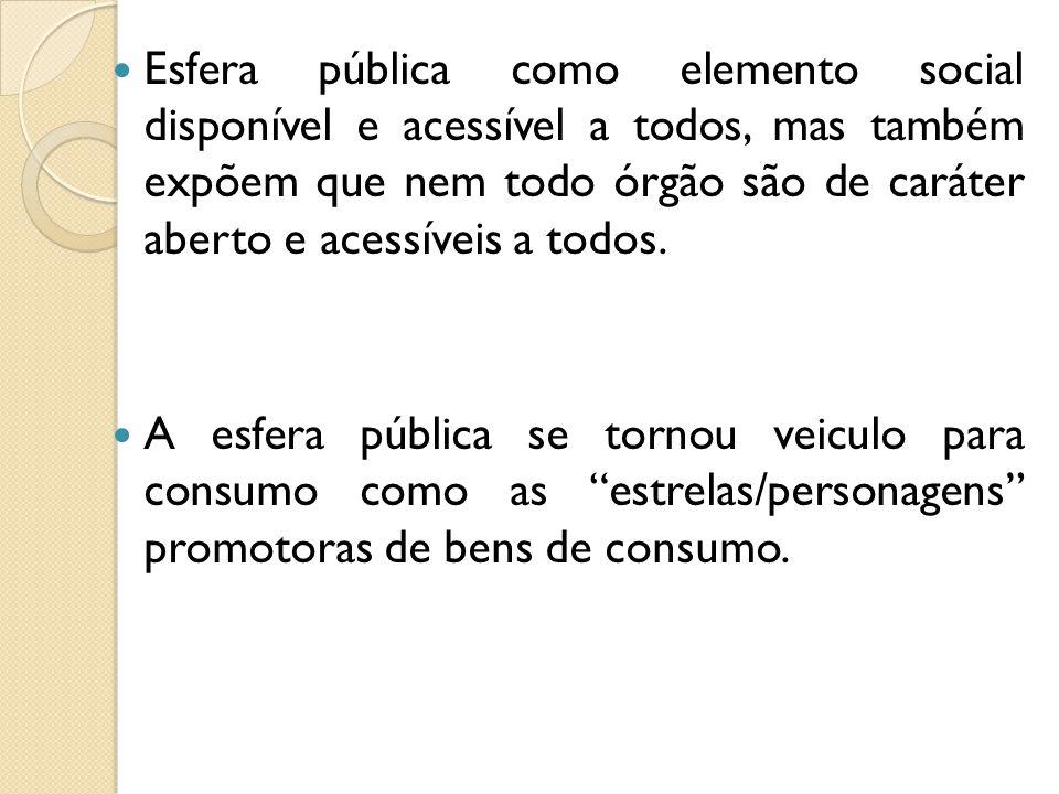 Opinião pública No fim do séc.