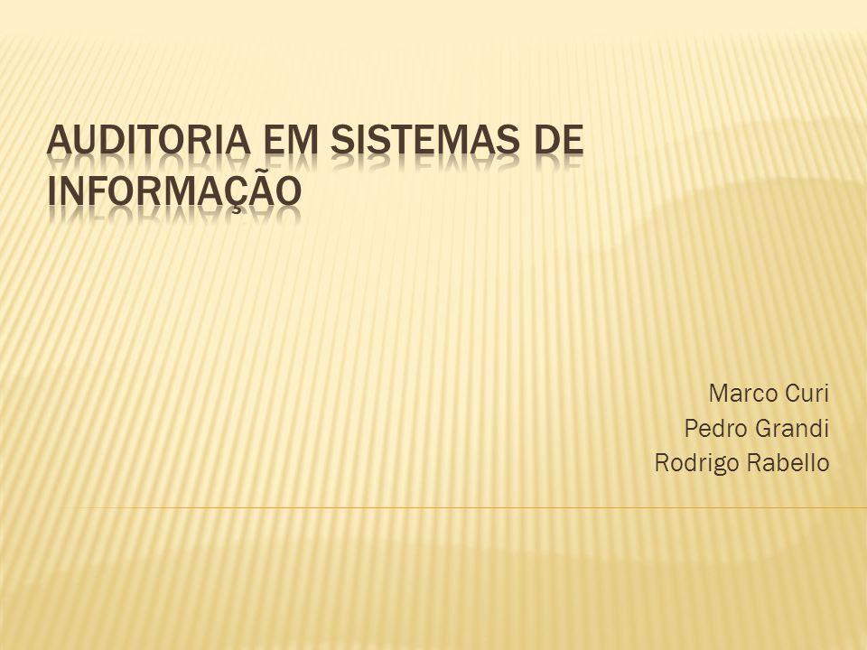 Conclusão da Auditoria: Criação de um relatório contendo: Diagnóstico da situação atual dos pontos de controle.