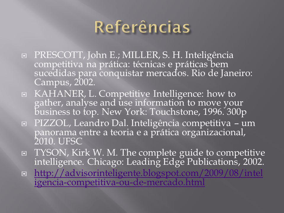 PRESCOTT, John E.; MILLER, S.H.