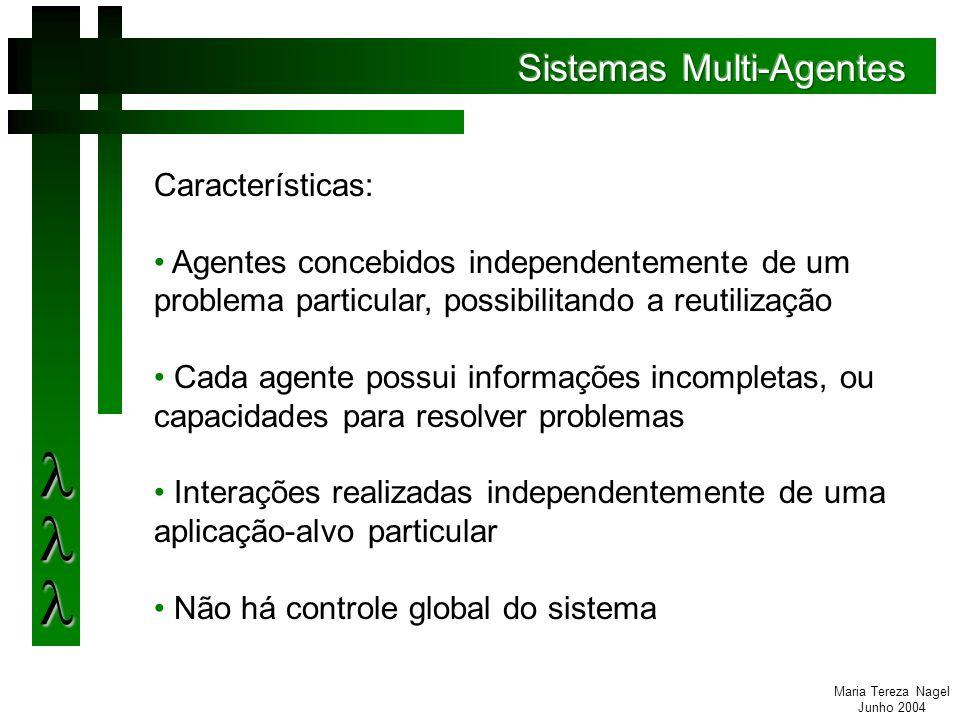 Maria Tereza Nagel Junho 2004 Consolidação dos Dados: percentual da quantidade de vezes que o uso do processamento ficou acima do limite definido como ideal.