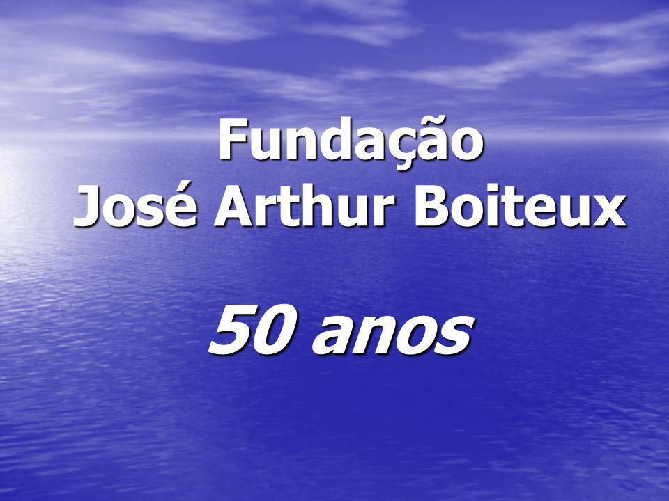 Fundação José Arthur Boiteux 50 anos