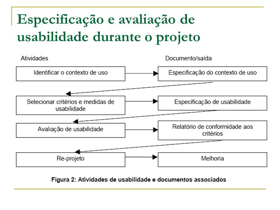 Anexo C (informativo) Exemplo de uma especificação de requisitos de usabilidade Recomenda-se leitura do exemplo...
