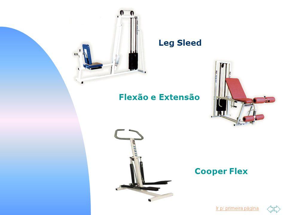 Ir p/ primeira página Leg Sleed Flexão e Extensão Cooper Flex
