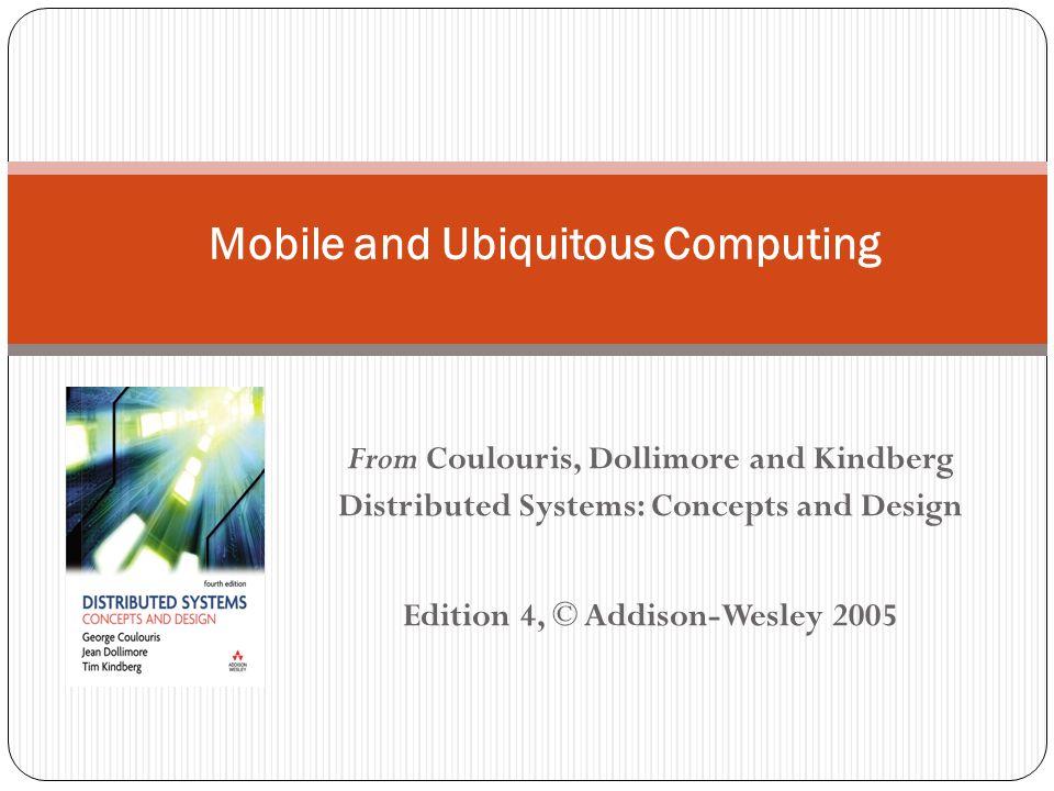 16 Computação Ubíqua e Móvel 16.1 Introdução, 16.2 Associação, 16.3 Interoperabilidade, 16.4 Percepção e Reconhecimento de Contexto, 16.5 Segurança e Privacidade, 16.6 Adaptabilidade..