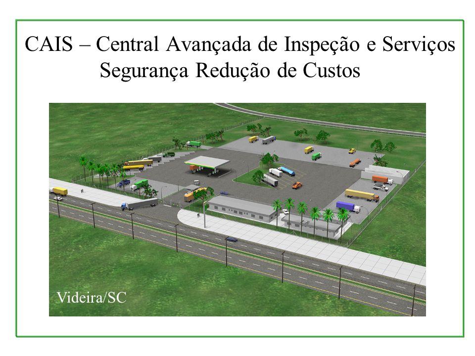 CAIS – Central Avançada de Inspeção e Serviços Segurança Redução de Custos Videira/SC
