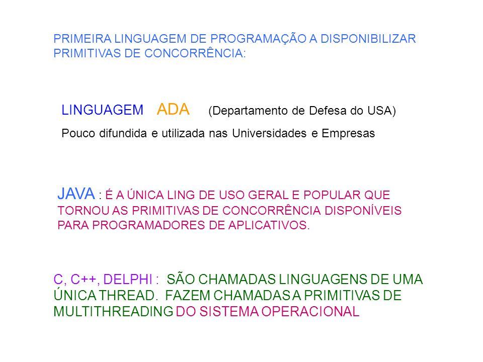 import java.io.*; public class ObjMsg implements Serializable { int n; public ObjMsg ( int n ) { this.n = n; } public void escreva() { for ( int i = 1; i <= n; i++ ) System.out.println( Mensagem do ObjMsg : + i ); }