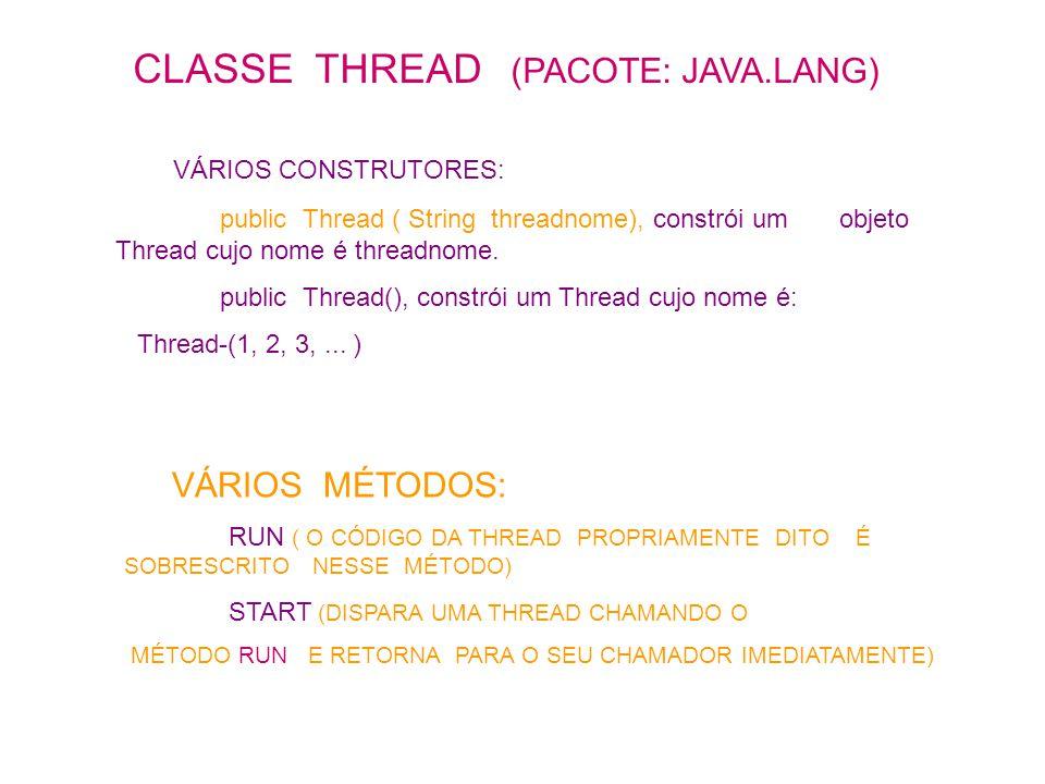 import java.io.*; public class Thrfonte extends Thread { OutputStream pipe; OutputStream saida; // destino ObjMsg objmsg; String linha; public Thrfonte ( OutputStream p, ObjMsg obms){ pipe = p; objmsg = obms; } public void run(){ try { ObjectOutputStream saida = new ObjectOutputStream ( pipe ); saida.writeObject ( objmsg ); saida.flush(); saida.close(); } catch ( Exception e ) {} }