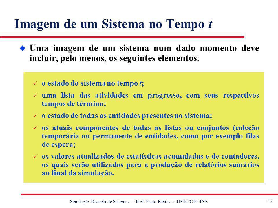 13 Simulação Discreta de Sistemas - Prof.