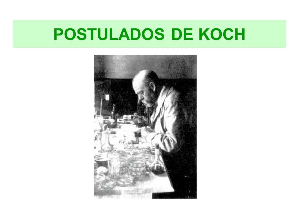 POSTULADOS DE KOCH