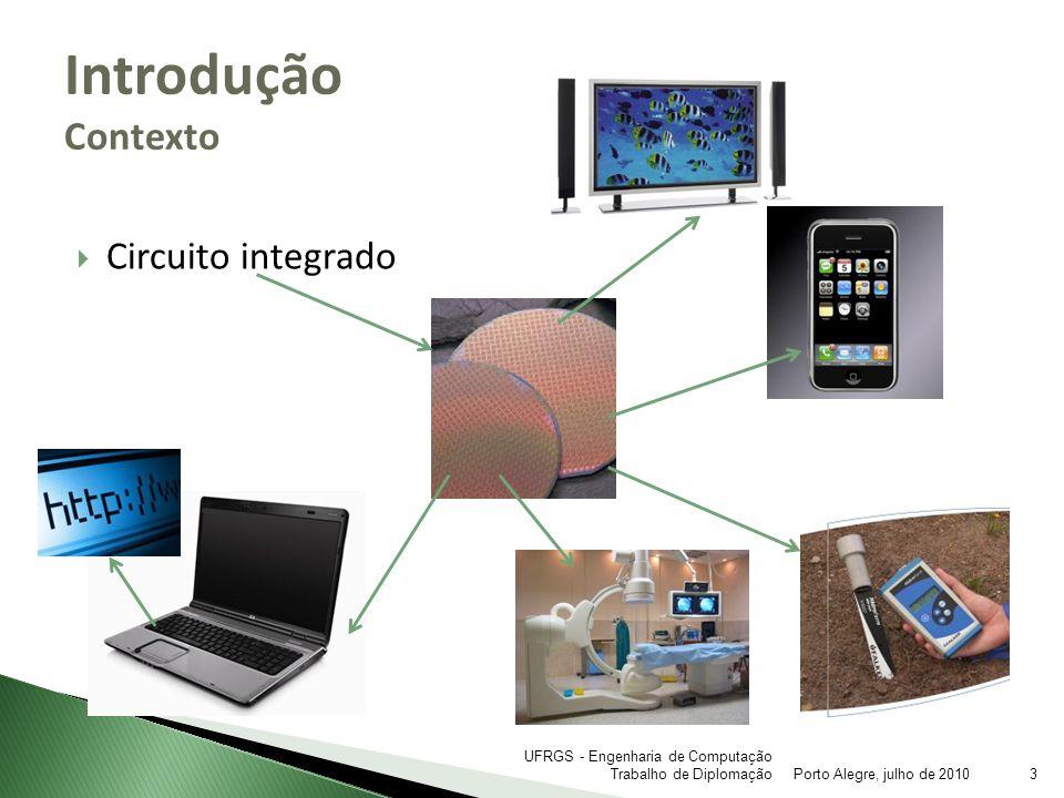 Modelo PTM Análise Elétrica Ferramentas Porto Alegre, julho de 201014 UFRGS - Engenharia de Computação Trabalho de Diplomação SpiceOpus
