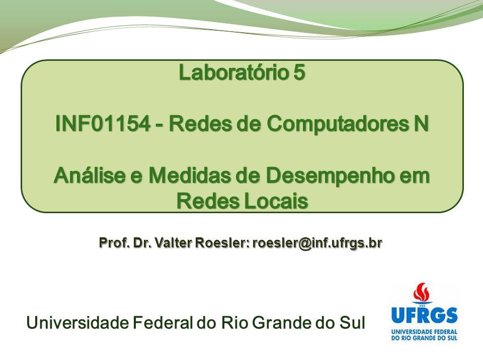 Universidade Federal do Rio Grande do Sul Prof. Dr. Valter Roesler: roesler@inf.ufrgs.br