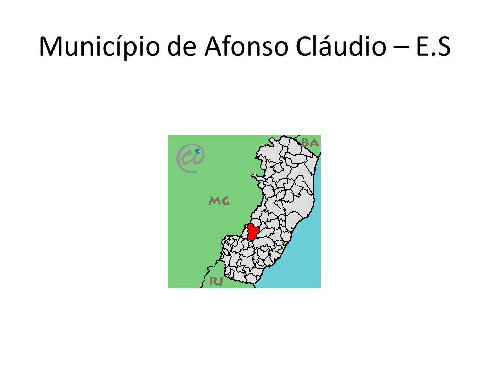 Afonso Cláudio, está localizado a 138 km da capital.