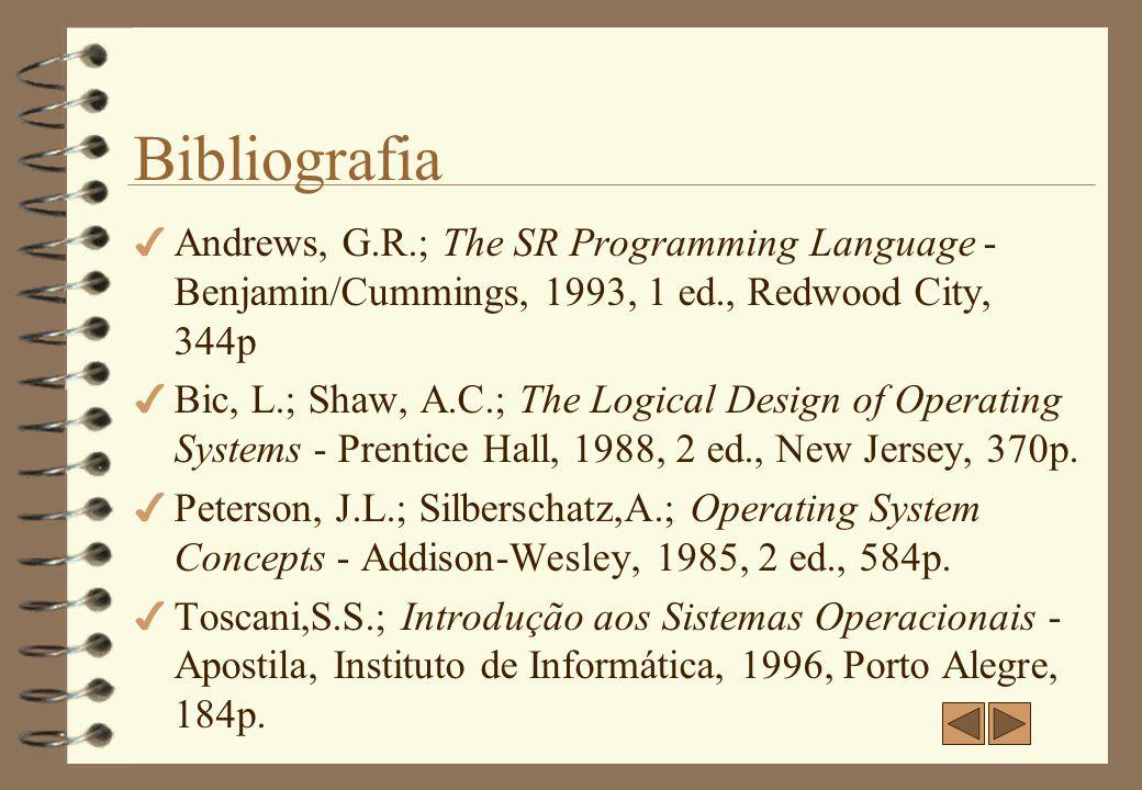Especificações Autores Ingrid de Vargas Mito ingrid@aton.inf.ufrgs.br Maíra Colling Wenzel maira@aton.inf.ufrgs.br Local Instituto de Informática UFRGS Disciplina: Sistemas Operacionais II Ano: 1998/2 Revisão: 2001-2 (C.