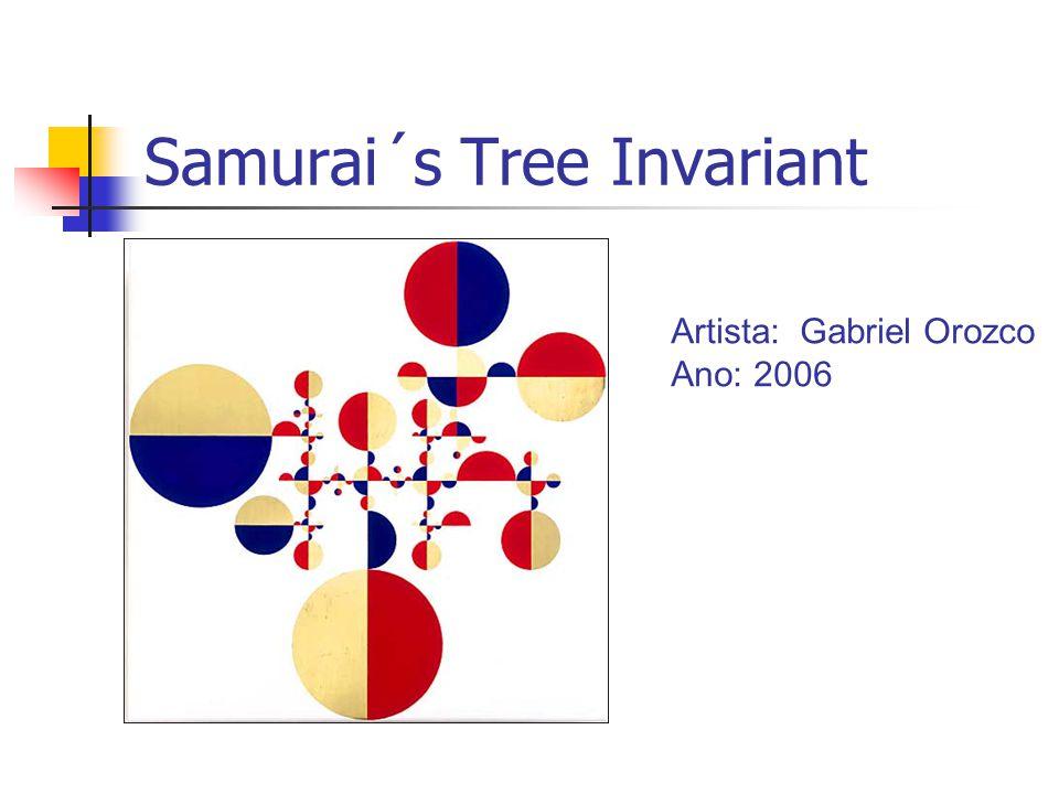 Samurai´s Tree Invariant Artista: Gabriel Orozco Ano: 2006