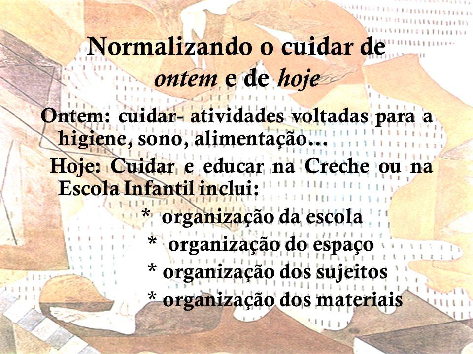 Regime de verdades Parece verdade que: produzimos na escola autonomia como liberdade; No entanto, trabalhamos para: submissão, docilidade, normalizaçã