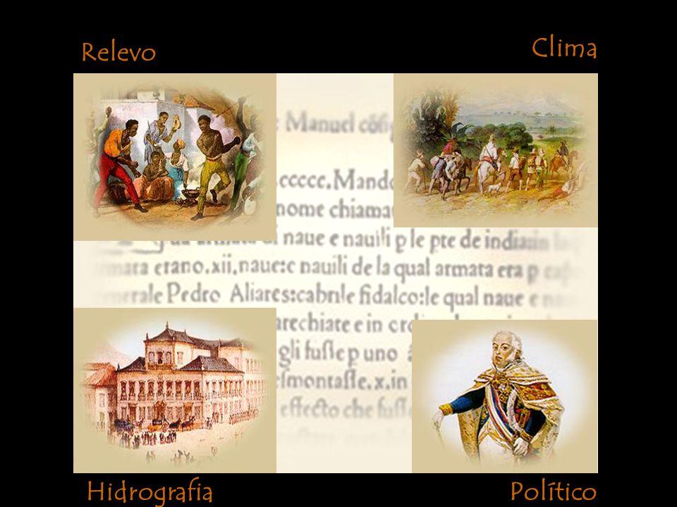 Relevo Clima HidrografiaPolítico