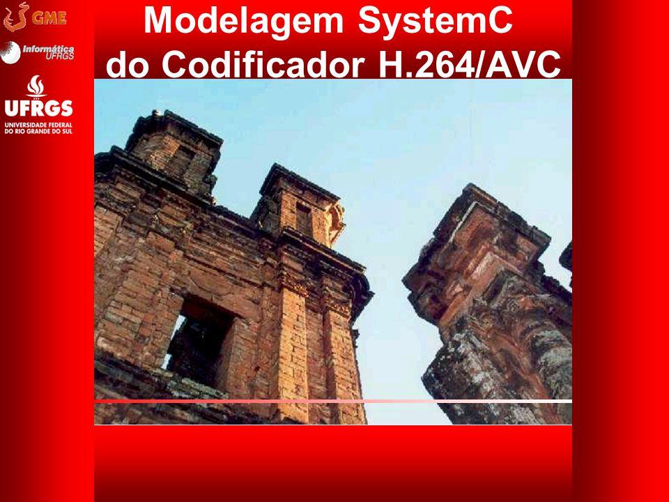 Modelagem SystemC do Codificador H.264/AVC
