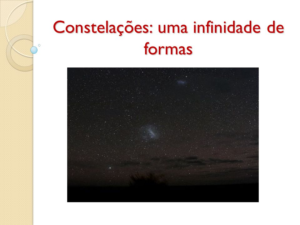 As constelações são agrupamentos arbitrários de estrelas que as várias civilizações e povos foram construindo no seu imaginário ao longo da História.