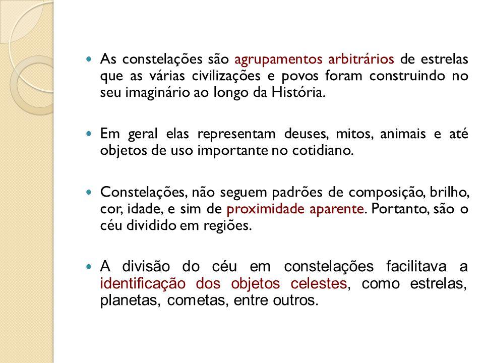 Constelações Indígenas: Influência cultural dos indígenas e dos africanos é dominante em todo o Brasil.