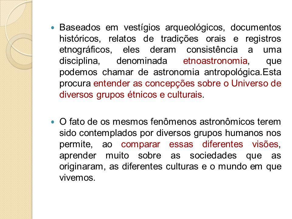 Baseados em vestígios arqueológicos, documentos históricos, relatos de tradições orais e registros etnográficos, eles deram consistência a uma discipl