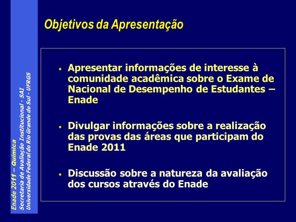 Enade – A Prova de Química Habilidades & Competências 2.