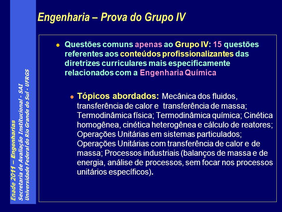 Questões da especialidade: 5 questões, a contemplarem tópicos específicos de cada especialidade.