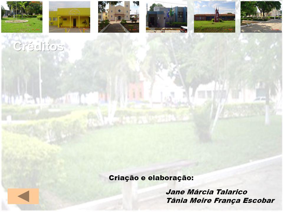 Criação e elaboração: Jane Márcia Talarico Tânia Meire França Escobar