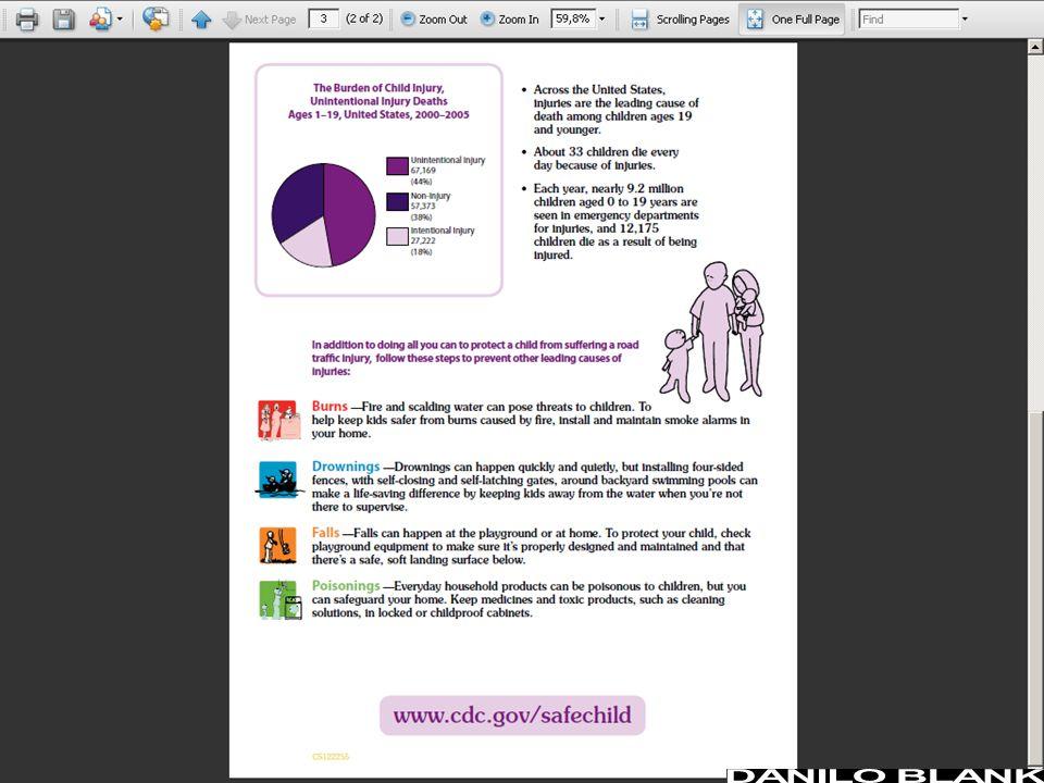 Orientação preventiva dos pais Usar preferentemente material impresso.