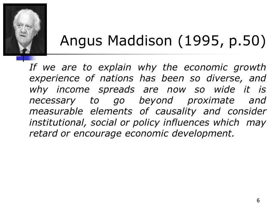 117 Crescimento Econômico e Mudança Cultural Uma mudança exógena que afete Y(M) – isto é - alguma mudança exógena no ambiente econômico que eleve o nível de renda para qualquer dado nível cultural, leva a um deslocamento da curva para a direita.