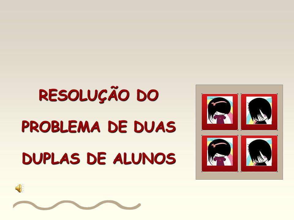 4º Problema Agora represente o percentual das turmas de 5ª série da escola em relação ao total de turmas de 5ª a 8ª série: