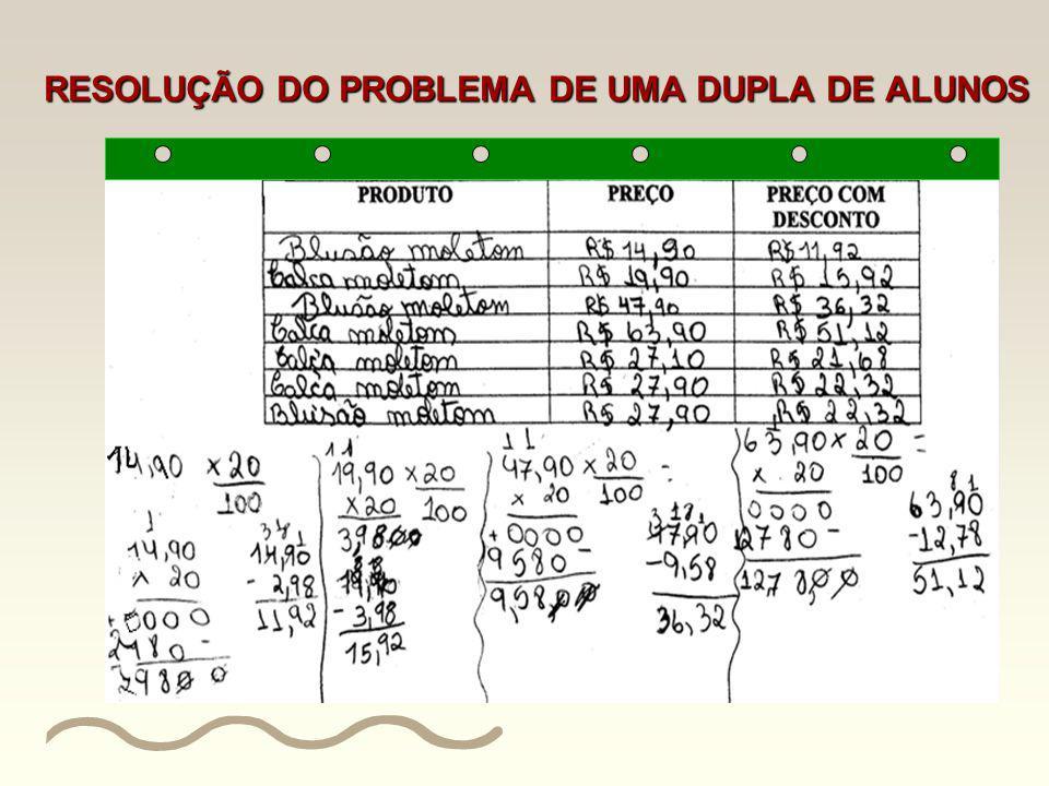 Problema 3 Verifique que produtos fazem parte da promoção e preencha a seguinte tabela: PRODUTOPREÇO PREÇO COM DESCONTO