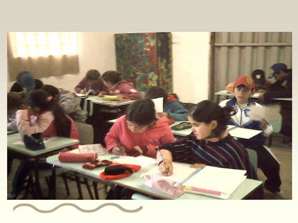 Segundo momento: O desenrolar da sétima e última sessão ocorreu em cinco momentos: Sessão 7 organização da sala de aula;