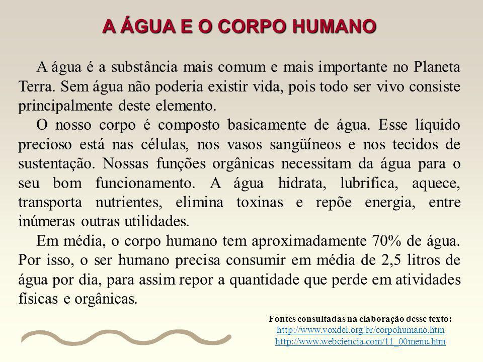 porcentagem água corpo humano saúde Resolução de problemas envolvendo a porcentagem a partir de um texto informativo, de entrevistas e de gráficos ref