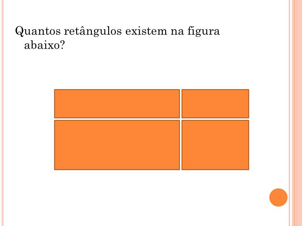 Quantos retângulos existem na figura abaixo?