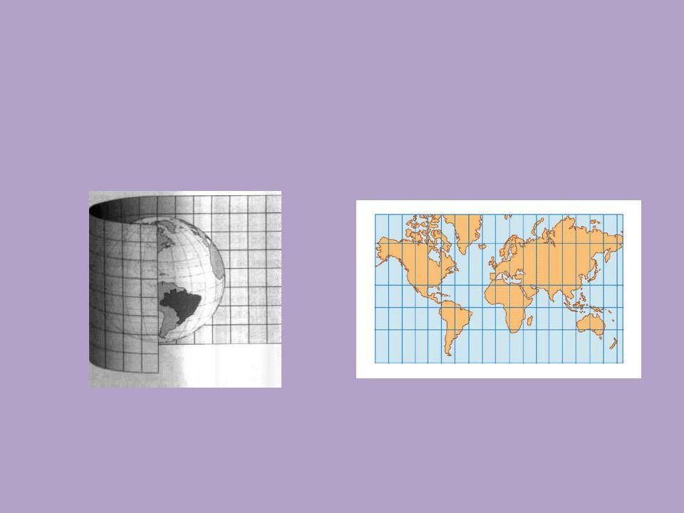 PROJEÇÃO CILINDRICA DE PETERS O cartógrafo alemão Arno Peters (1916-2002) considerava que os mapas eram uma das manifestações simbólicas da submissão dos países do Terceiro Mundo.