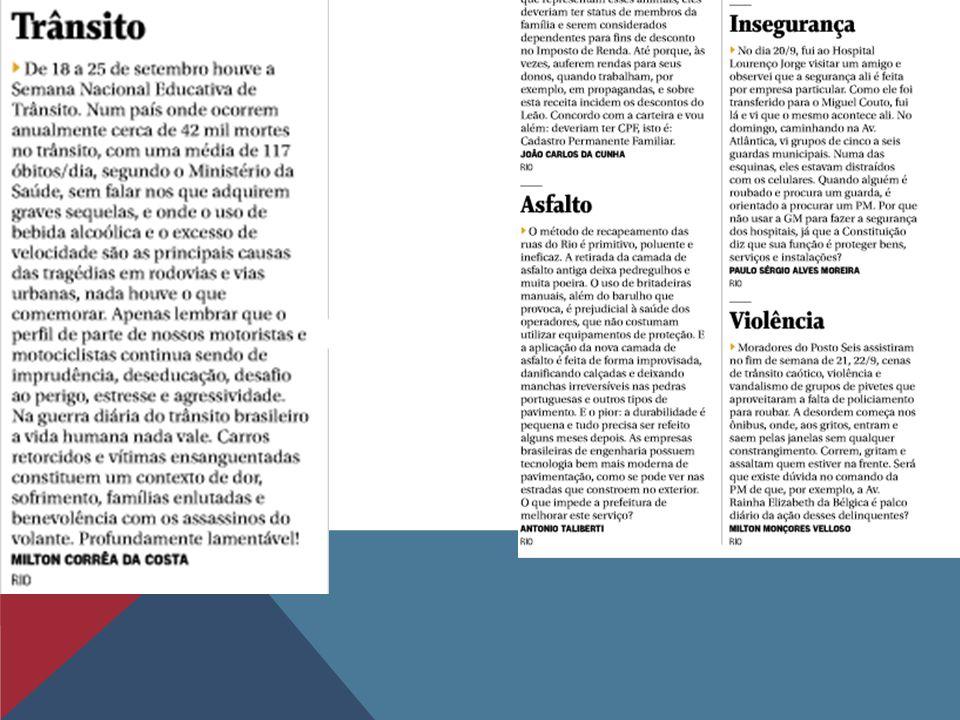 Exemplo de carta Londrina, 10 de setembro de 2002 Prezado editor, O senhor e eu podemos afirmar com segurança que a violência em Londrina atingiu proporções caóticas.