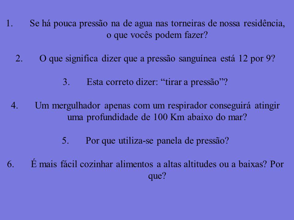 PRESSÃO- p. 26 a) b) c) d) e)