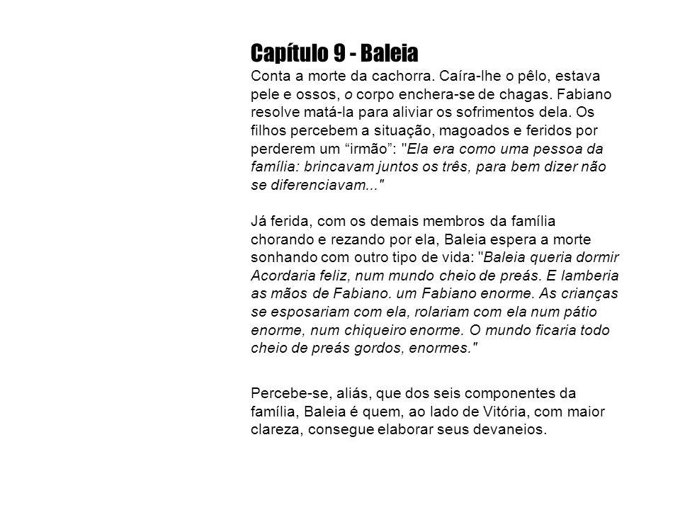 Capítulo 9 - Baleia Conta a morte da cachorra.