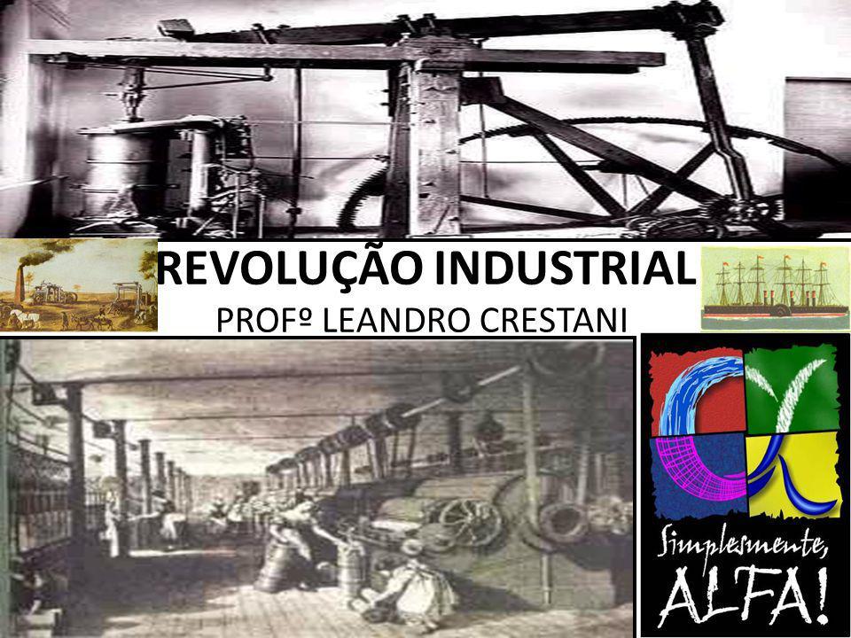 REVOLUÇÃO INDUSTRIAL PROFº LEANDRO CRESTANI