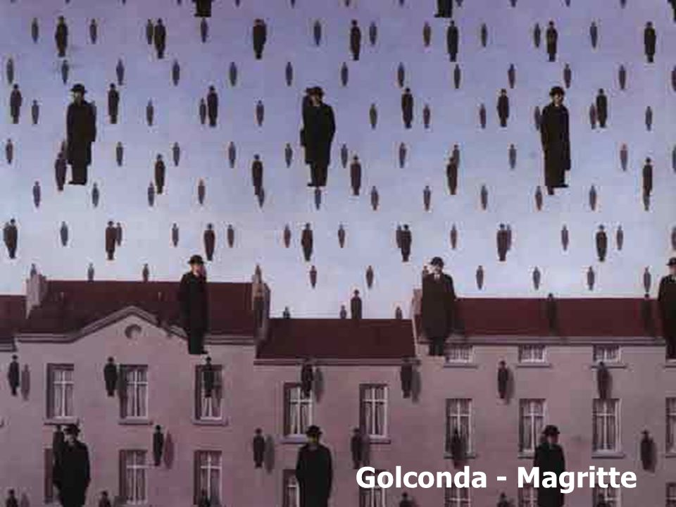 Golconda - Magritte