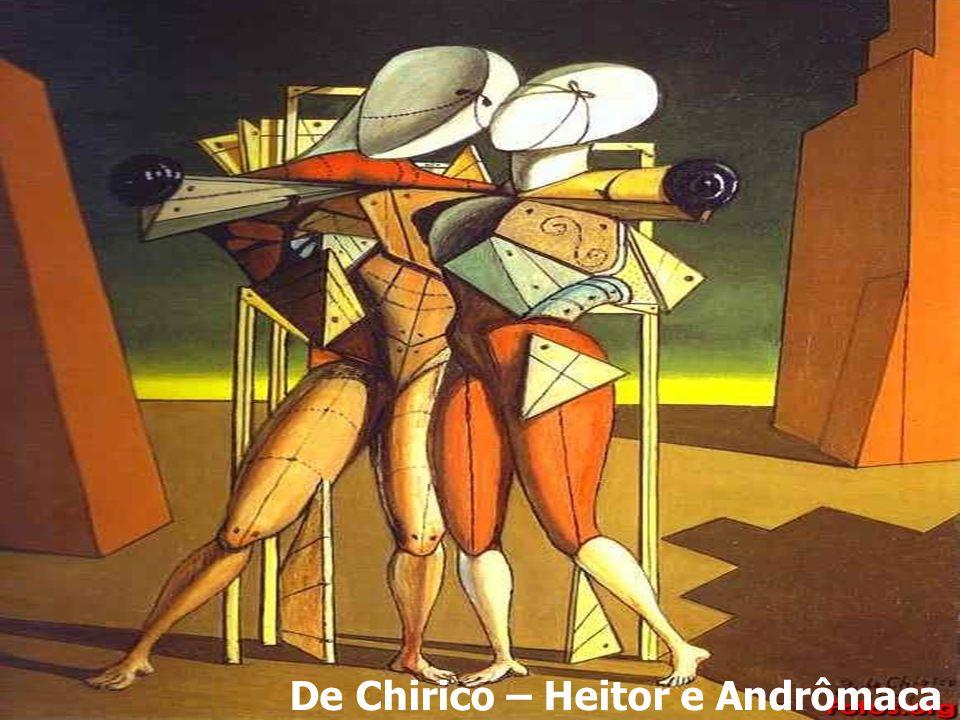 De Chirico – Heitor e Andrômaca